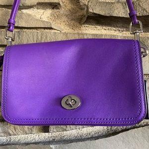 Ultraviolet Coach Legacy Penny Crossbody